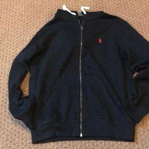 Men's Polo zip sweatshirt